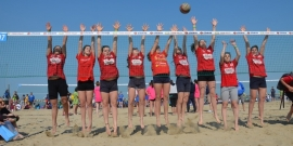 Young Volley on the Beach 2018