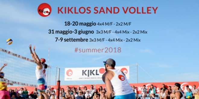 KIKLOS SAND VOLLEY Bellaria 2018