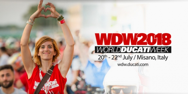 World Ducati Week Misano 2018