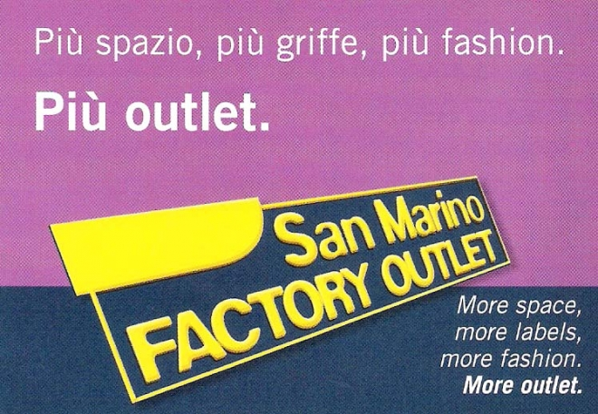 922b45320be5 Factory OutLet San Marino