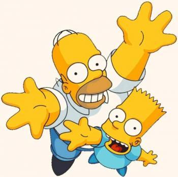 Bart Simpson funny cartoon